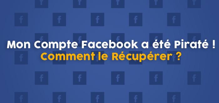 récupérer mon compte facebook
