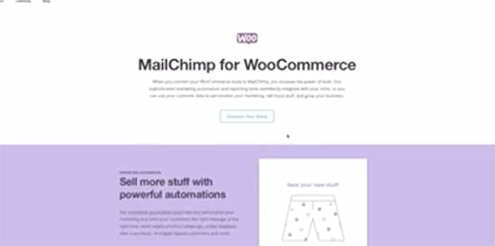mailchimp woocommerce